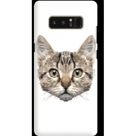 Etui na telefon Samsung Galaxy Note 8 Kot Geometryczny