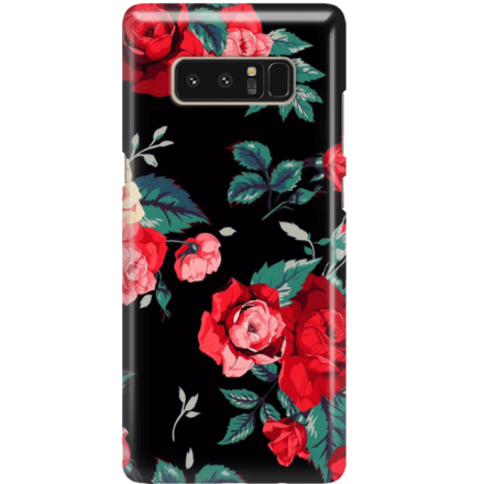 Etui na telefon Samsung Galaxy Note 8 Różany Ogród