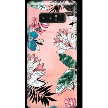Etui na telefon Samsung Galaxy Note 8 Tropikalna Fantazja