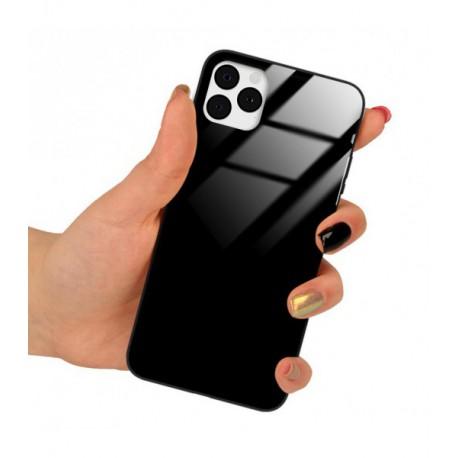 ETUI BLACK CASE GLASS NA TELEFON APPLE IPHONE 11 PRO CZARNY