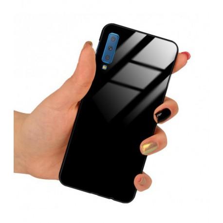 ETUI BLACK CASE GLASS NA TELEFON SAMSUNG GALAXY A60 CZARNY