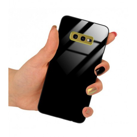 ETUI BLACK CASE GLASS NA TELEFON SAMSUNG GALAXY S20 PLUS CZARNY