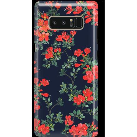 Etui na telefon Samsung Galaxy Note 8 Czerwone Kwiaty