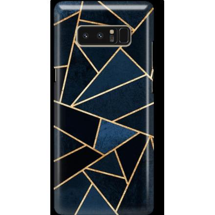 Etui na telefon Samsung Galaxy Note 8 Geometyczne Indygo