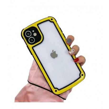 ETUI PANCERNE NA TELEFON APPLE IPHONE 11 ŻÓŁTY