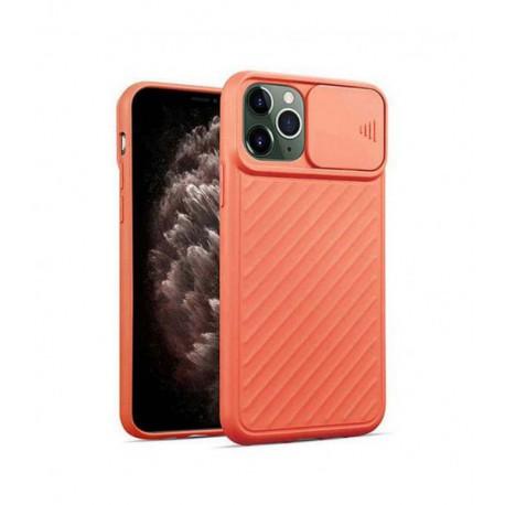 ETUI CAMERA PROTECTION NA TELEFON IPHONE IPHONE 11 PRO MAX POMARAŃCZOWY
