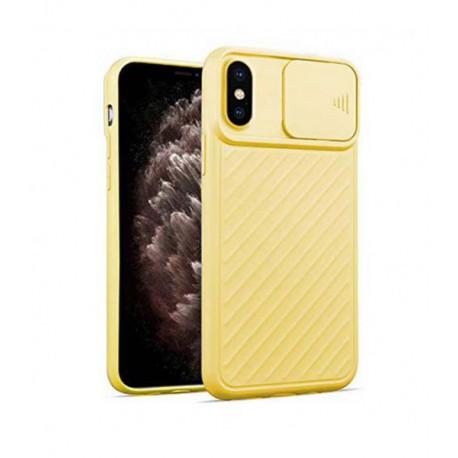 ETUI CAMERA PROTECTION NA TELEFON IPHONE IPHONE 11 ŻÓŁTY