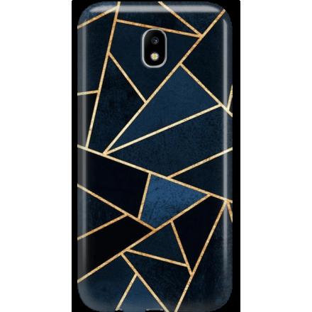 Etui na telefon Samsung Galaxy J5 2017 Geometyczne Indygo