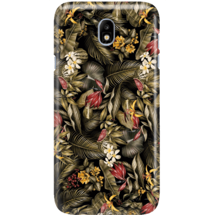 Etui na telefon Samsung Galaxy J7 2017 Egzotyczne Rośliny