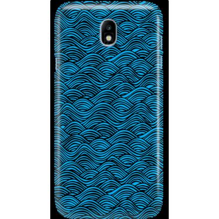 Etui na telefon Samsung Galaxy J7 2017 Falujące Morze