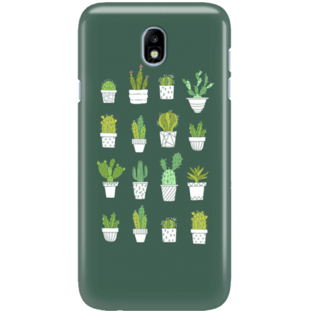 Etui na telefon Samsung Galaxy J7 2017 Kaktusy