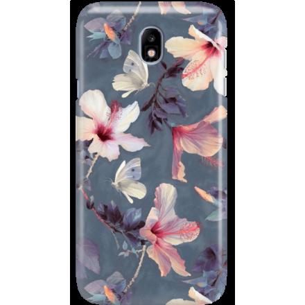 Etui na telefon Samsung Galaxy J7 2017 Kwiatowy Ogród