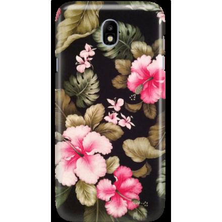 Etui na telefon Samsung Galaxy J7 2017 Kwiatowy Raj