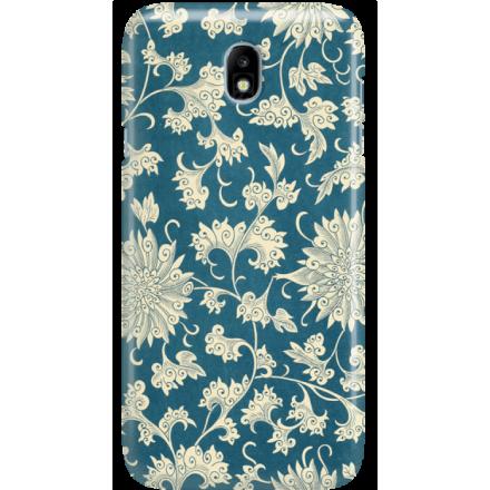 Etui na telefon Samsung Galaxy J7 2017 Kwiaty Ornamenty