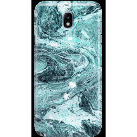 Etui na telefon Samsung Galaxy J7 2017 Lazurowe Fale