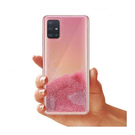 ETUI LIQUID PEARL NA TELEFON SAMSUNG GALAXY A51 ROSE GOLD