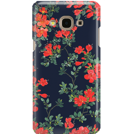Etui na telefon Samsung Galaxy J3 2017 Czerwone Kwiaty