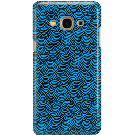 Etui na telefon Samsung Galaxy J3 2017 Falujące Morze