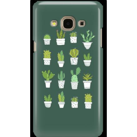 Etui na telefon Samsung Galaxy J3 2017 Kaktusy