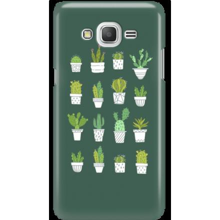 Etui na telefon Samsung Galaxy Grand Prime Kaktusy