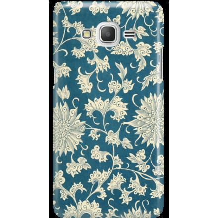 Etui na telefon Samsung Galaxy Grand Prime Kwiaty Ornamenty