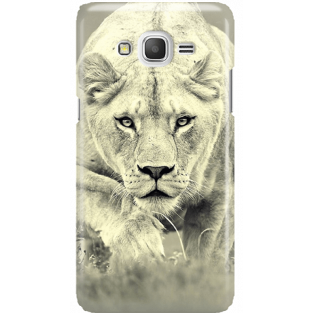 Etui na telefon Samsung Galaxy Grand Prime Lwica