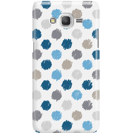 Etui na telefon Samsung Galaxy Grand Prime Malowane Kropki