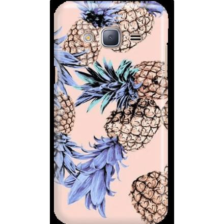 Etui na telefon Samsung Galaxy J3 2016 Ananasy