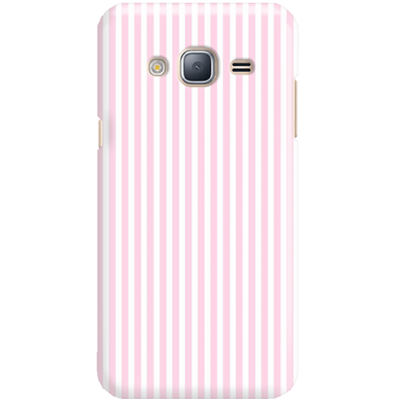 Etui na telefon Samsung Galaxy J3 2016 Candy Różowe Paski