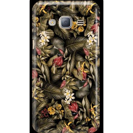 Etui na telefon Samsung Galaxy J3 2016 Egzotyczne Rośliny
