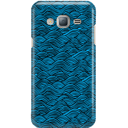 Etui na telefon Samsung Galaxy J3 2016 Falujące Morze