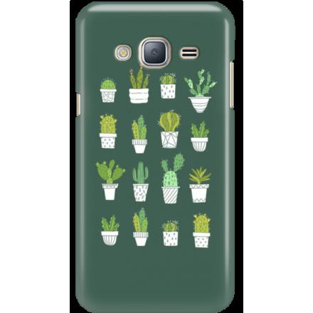 Etui na telefon Samsung Galaxy J3 2016 Kaktusy