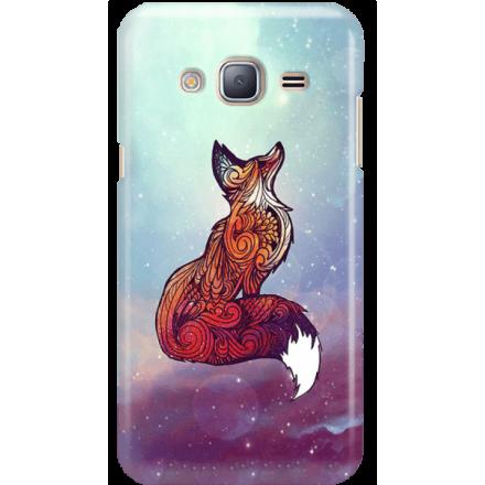 Etui na telefon Samsung Galaxy J3 2016 Kosmiczny Lis