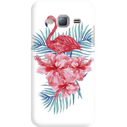 Etui na telefon Samsung Galaxy J3 2016 Król Flaming