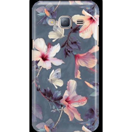 Etui na telefon Samsung Galaxy J3 2016 Kwiatowy Ogród