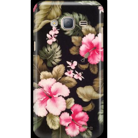 Etui na telefon Samsung Galaxy J3 2016 Kwiatowy Raj