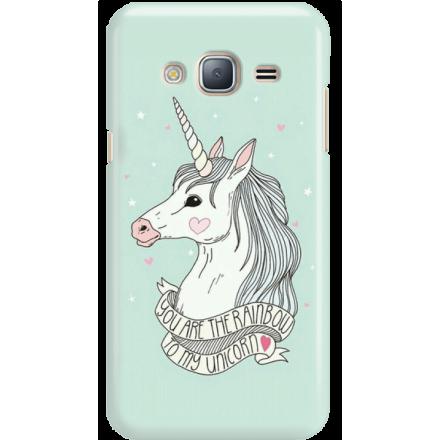 Etui na telefon Samsung Galaxy J3 2016 Unicorn Szczęśliwy Jednorożec