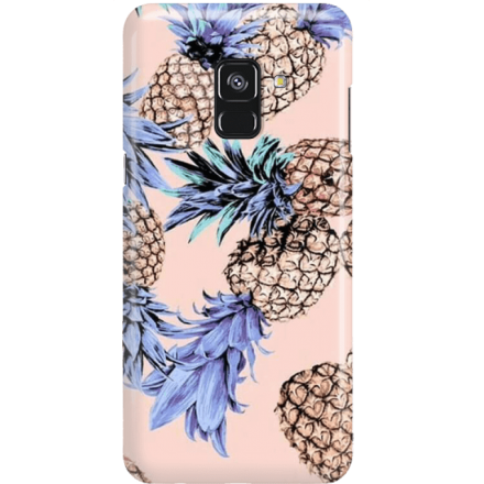 Etui na telefon Samsung Galaxy A8 2018 Ananasy