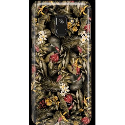 Etui na telefon Samsung Galaxy A8 2018 Egzotyczne Rośliny