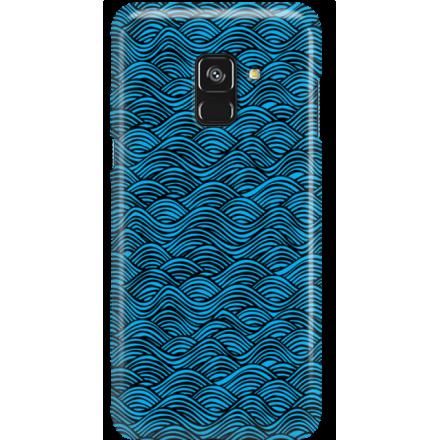 Etui na telefon Samsung Galaxy A8 2018 Falujące Morze