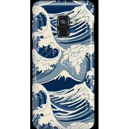 Etui na telefon Samsung Galaxy A8 2018 Japonskie Fale