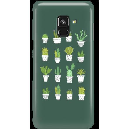 Etui na telefon Samsung Galaxy A8 2018 Kaktusy