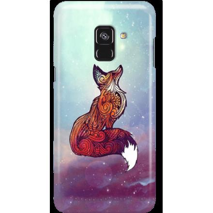 Etui na telefon Samsung Galaxy A8 2018 Kosmiczny Lis