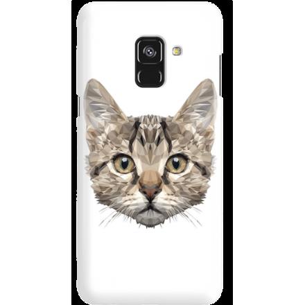 Etui na telefon Samsung Galaxy A8 2018 Kot Geometryczny