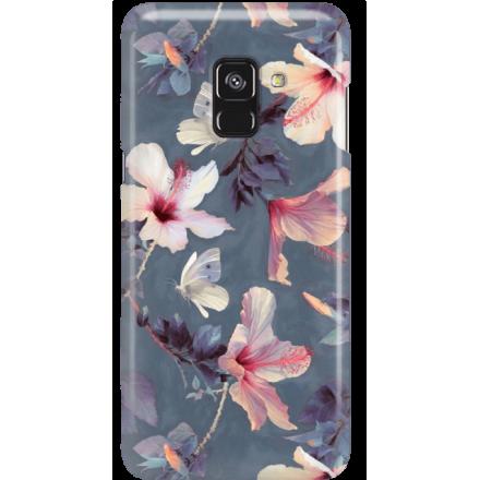 Etui na telefon Samsung Galaxy A8 2018 Kwiatowy Ogród