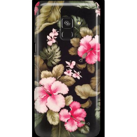 Etui na telefon Samsung Galaxy A8 2018 Kwiatowy Raj