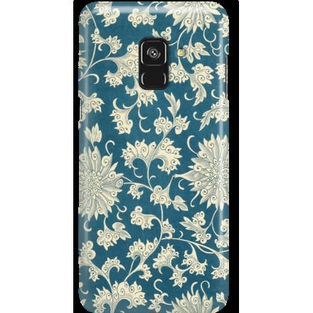 Etui na telefon Samsung Galaxy A8 2018 Kwiaty Ornamenty