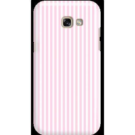 Etui na telefon Samsung Galaxy A5 2017 Candy Różowe Paski