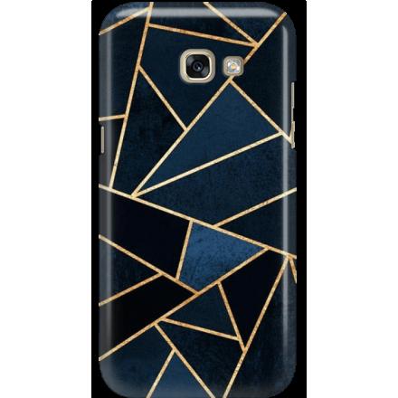 Etui na telefon Samsung Galaxy A5 2017 Geometyczne Indygo