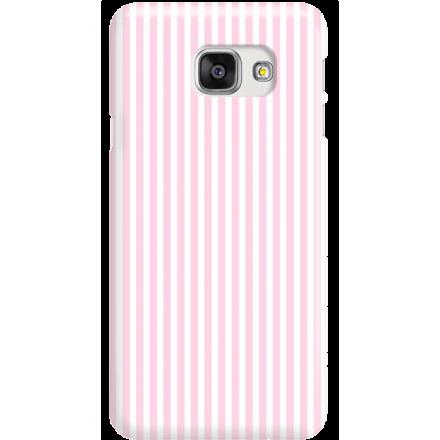 Etui na telefon Samsung Galaxy A7 2016 Candy Różowe Paski